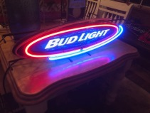 BUD LIGHT NEON