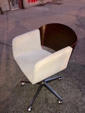 CB2 MODERN CHAIR