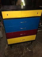 COLORFUL DRESSER