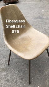 FIBERGLASS SHELL CHAIR