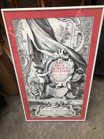 FRENCH POSTER $45