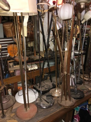LARGE SELECTION OF FLOOR LAMPS