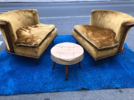 MID CENTURY SIDE CHAIRS $495