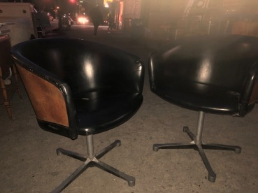MID CENTURY SWIVEL CHAIRS
