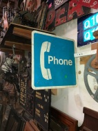 PHONE BOOTH SIGN
