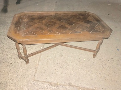 WOOD COFFEE TABLE 2
