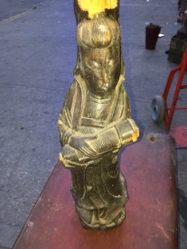 ANTIQUE ASIAN STATUE $99