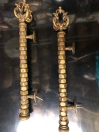 ANTIQUE BRASS HANDLES