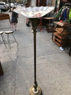 ANTIQUE FLOOR LAMP $100
