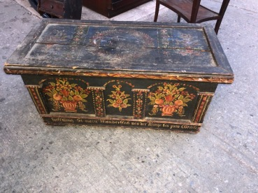 ANTIQUE TRUNK $75