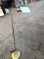 BRASS FLOOR LAMP $75