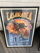 CASABLANCA MOVIE POSTER