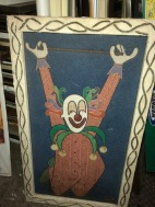 CLOWN WALL ART