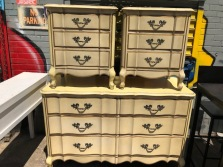 FRENCH PROVINCIAL DRESSERS