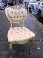 FRENCH VANITY SEAT