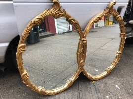 GOLD LEAF MIRROR $250