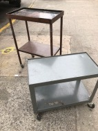INDUSTRIAL METAL CARTS