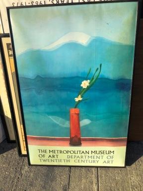 METROPOLITAN MUSEUM OF ART POSTER $100