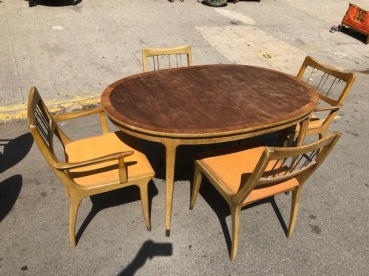 MID CENTURY DINING SET