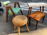 MID CENTURY MODERN TABLES