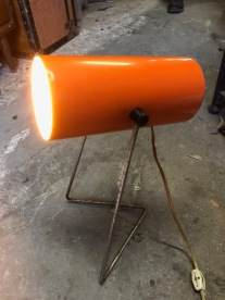 MID CENTURY TUBE LAMP $250