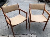 MOBLER DANISH MODERN CHAIRS