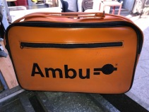 ORANGE MEDICAL BAG