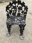 OUTDOOR CAST IRON CHAIR