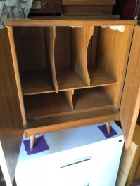 RECORD CABINET INSIDE