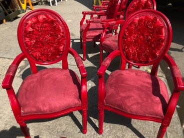 RED ROSE CHAIRS 2