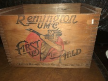 REMINGTON WOOD BOX