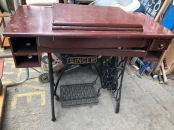 SINGER CAST IRON TABLE