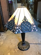 SLAG GLASS LAMP $99