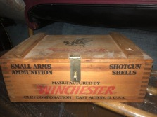 WINCHESTER WOOD BOX