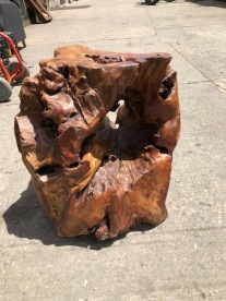 WOOD TABLE BASE 3