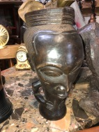 AFRICAN CARVED CUP