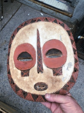 AFRICAN MASK 2