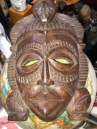 AFRICAN MASK 4