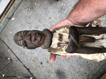 AFRICAN STATUE WOOD