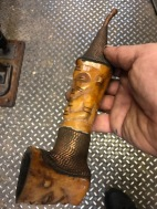AFRICAN STONE COPPER PIPE 3