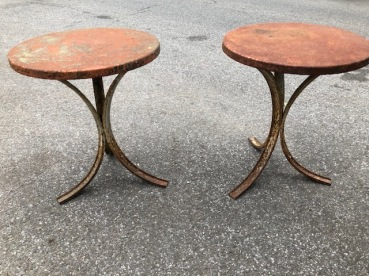 CAST IRON STOOLS