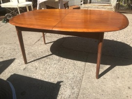 ELSTEDS MOBELFABRIK DANISH MODERN DINING TABLE