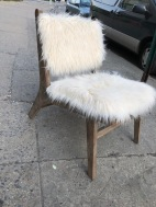 FURRY CHAIR
