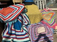 HAND KNIT BLANKETS
