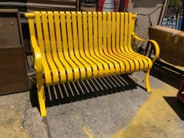 HEAVY OUTDOOR BENCH