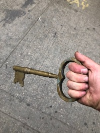 LARGE BRASS KEY