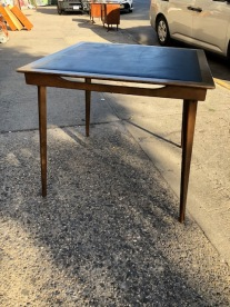 MID CENTURY FOLDING TABLE