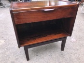 ROSEWOOD DANISH SIDE TABLE