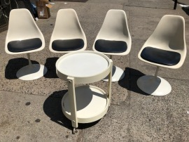SAARINEN TULIP CHAIRS2