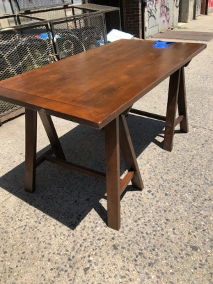 SAW HORSE TABLE